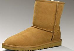 ботинки из натуральной овчины