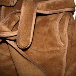 шерстяной халат
